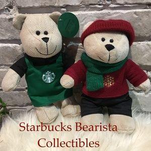 Starbucks Bearista Bears 2014 & 2016